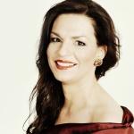 Sängerin Marion Eckstein singt auf dem Konzert Mezzosopran und Alt.